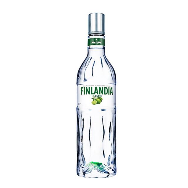 Limeal ízesített Finlandia Vodka 1 literes üveg.